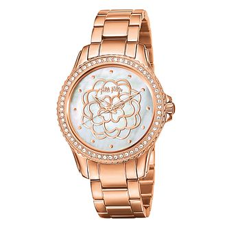 Folli Follie Ladies' Rose Gold Plated Watch - Product number 5000637