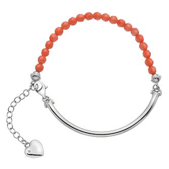 Hot Diamonds Silver Coral 4mm Bracelet - Product number 5000955
