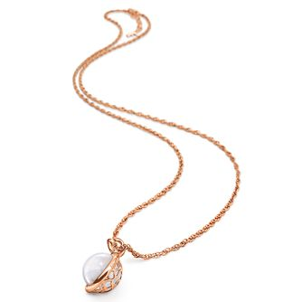 Folli Follie Rose Gold Plated Long Necklace - Product number 5001137