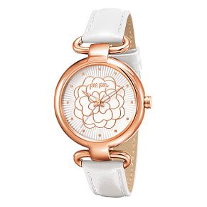Folli Follie Ladies' Rose Gold Plated Watch - Product number 5001641