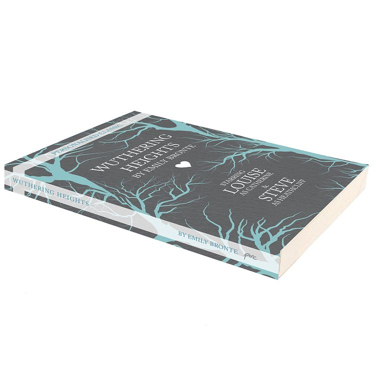 Personalised Wuthering Heights Novel - Product number 5004772