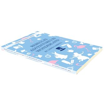 Personalised Alice in Wonderland Novel - Product number 5004780