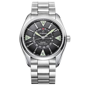 Eterna Men's KonTiki Stainless Steel Bracelet Watch - Product number 5004985