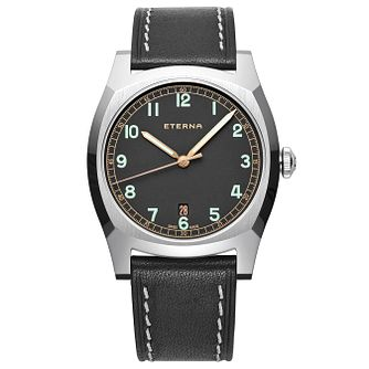 Eterna Men's Heritage Limited Stainless Steel Strap Watch - Product number 5004993