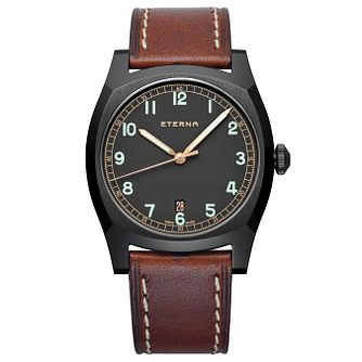Eterna Men's Heritage Limited Edition Ion Plated Strap Watch - Product number 5005000