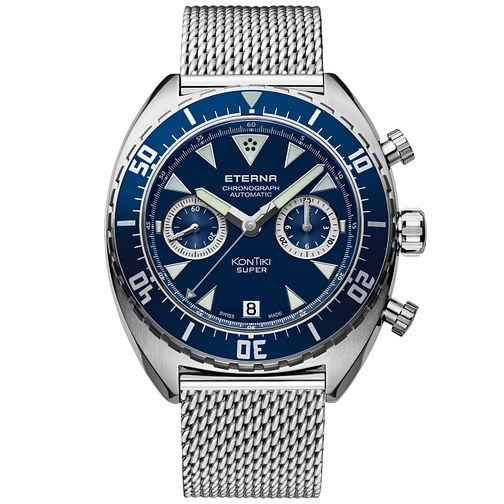Eterna Men's Super KonTiki Chronograph Bracelet Watch - Product number 5005310
