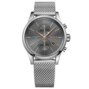 Hugo Boss Jet Men's Stainless Steel Bracelet Watch - Product number 5006996