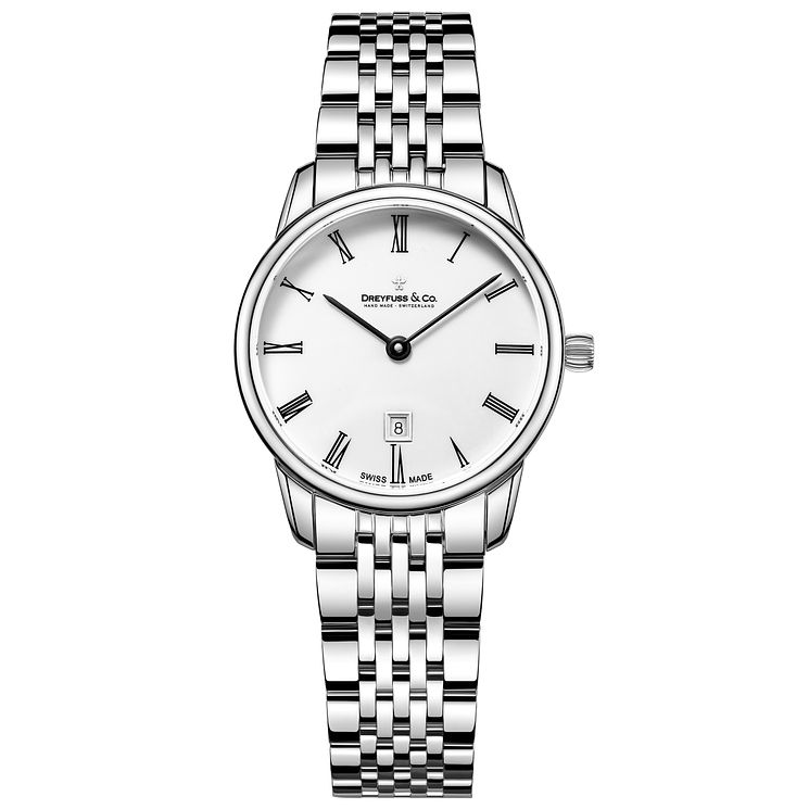 Dreyfuss & Co Ladies' Stainless Steel Bracelet Watch - Product number 5007410