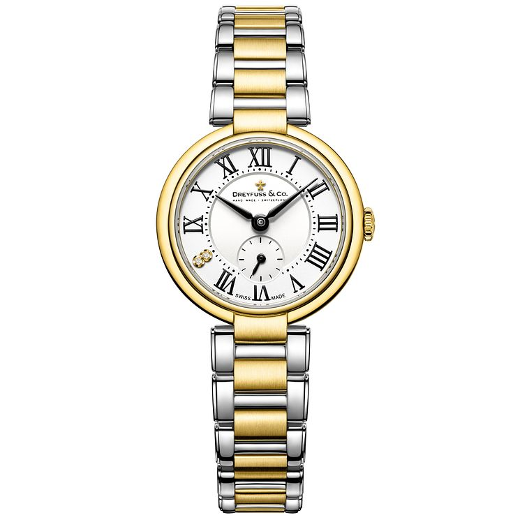 Dreyfuss & Co 1974 Ladies' Two Colour Bracelet Watch - Product number 5007437