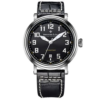 Dreyfuss & Co 1924 Men's Stainless Steel Strap Watch - Product number 5007577