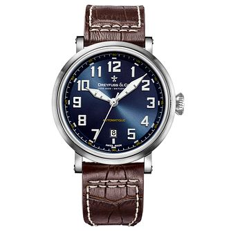 Dreyfuss & Co 1924 Men's Stainless Steel Strap Watch - Product number 5007585