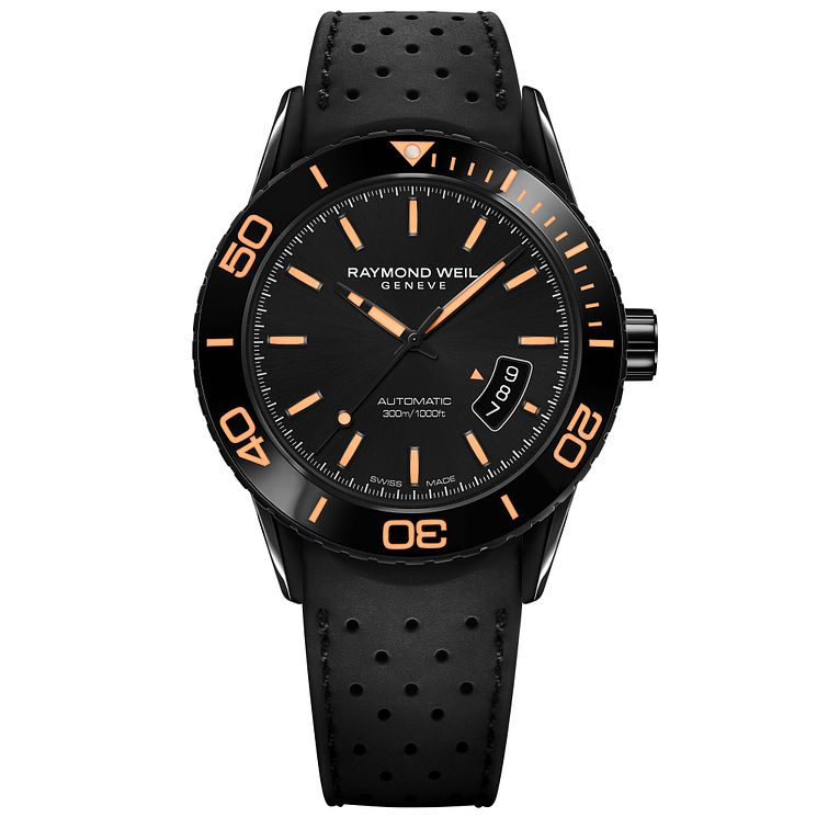Raymond Weil Men's Ion Plated Strap Watch - Product number 5007836