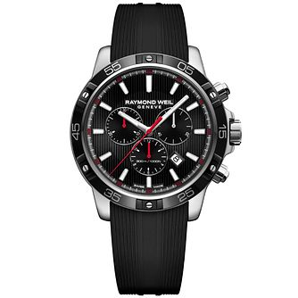 Raymond Weil Tango Men's Black Rubber Strap Watch - Product number 5007879