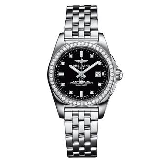 Breitling Galactic 29 Ladies' Stainless Steel Bracelet Watch - Product number 5007933