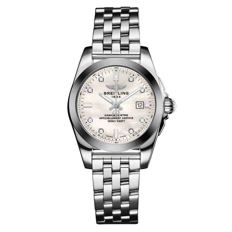 Breitling Galactic 29 Ladies' Stainless Steel Bracelet Watch - Product number 5008018