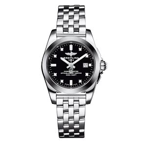 Breitling Galactic 29 Ladies' Stainless Steel Strap Watch - Product number 5008026