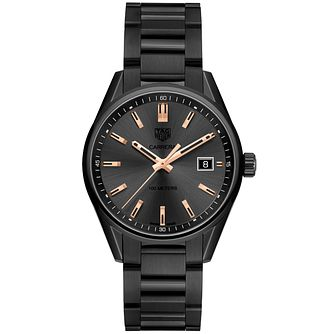 TAG Heuer Carrera Ladies' Ion Plated Bracelet Watch - Product number 5008719