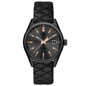 TAG Heuer Carrera Ladies' Ion Plated Strap Watch - Product number 5008727