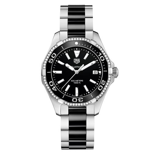 TAG Heuer Aquaracer Ladies' Two Colour Bracelet Watch - Product number 5008808
