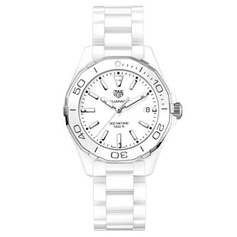 TAG Heuer Aquaracer Ladies' Stainless Steel Bracelet Watch - Product number 5008832