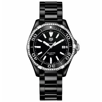 TAG Heuer Aquaracer Ladies' Ceramic Bracelet Watch - Product number 5008840