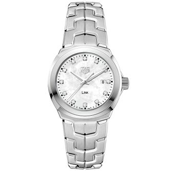 TAG Heuer Link Ladies' Stainless Steel Bracelet Watch - Product number 5008883