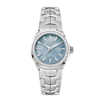 TAG Heuer Link Ladies' Stainless Steel Bracelet Watch - Product number 5008913