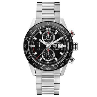 TAG Heuer Carrera Men's Stainless Steel Bracelet Watch - Product number 5008980