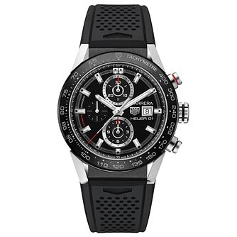 TAG Heuer Carrera Men's Stainless Steel Strap Watch - Product number 5008999