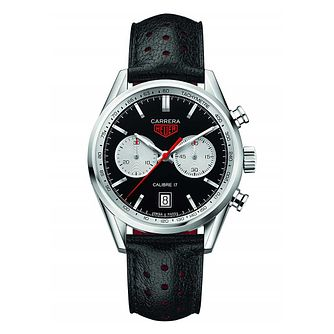TAG Heuer Carrera Men's Stainless Steel Strap Watch - Product number 5009405
