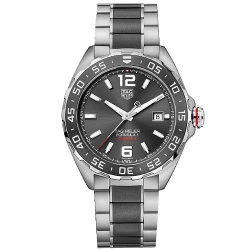 TAG Heuer F1 Men's Two Colour Bracelet Watch - Product number 5009529