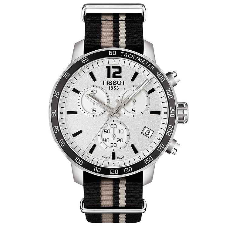 Tissot Quickster Men's Stainless Steel Strap Watch - Product number 5009642