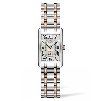 Longines DolceVita Ladies' Two Colour Bracelet Watch - Product number 5011426