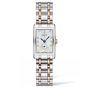 Longines DolceVita Ladies' Diamond Two Colour Bracelet Watch - Product number 5011434