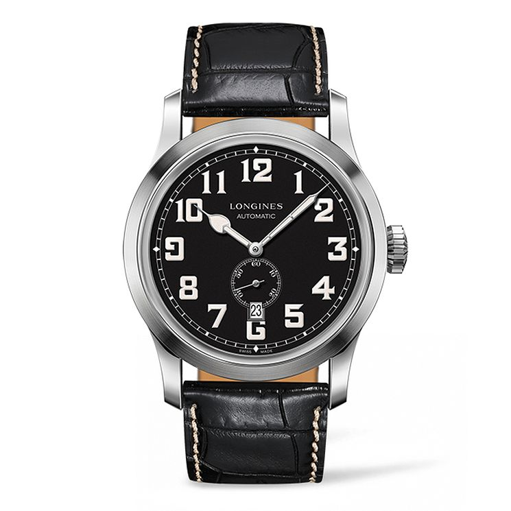 Longines Heritage Men's Stainless Steel Strap Watch - Product number 5011507