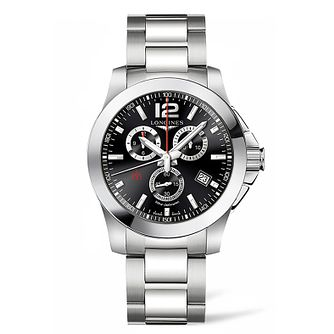 Longines Conquest Men's Stainless Steel Bracelet Watch - Product number 5011728