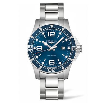 Longines HydroConquest Men's Blue Dial Bracelet Watch - Product number 5011779