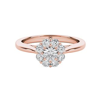 The Diamond Story 18ct Rose Gold 0.50ct Diamond Ring - Product number 5016754