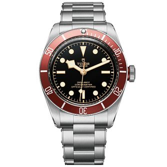 Tudor Black Bay Men's Stainless Steel Bracelet Watch - Product number 5031109