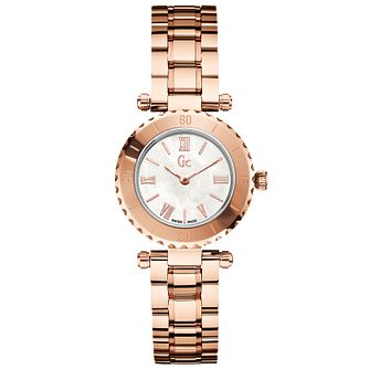 Gc Mini Chic Ladies' Rose Gold Plated Bracelet Watch - Product number 5041546