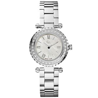 Gc Mini Chic Ladies' Stainless Steel Diamond Bracelet Watch - Product number 5041554