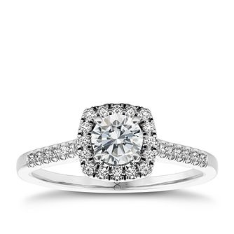 The Diamond Story Platinum 2/3 carat diamond ring - Product number 5046734