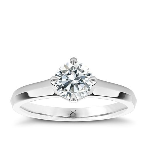 The Diamond Story Platinum 3/4ct diamond solitaire - Product number 5047803