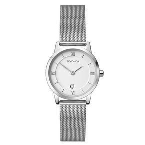 Sekonda Ladies' Stainless Steel Mesh Bracelet Watch - Product number 5052270