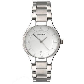 Sekonda White Dial Stainless Steel Bracelet Watch - Product number 5052300
