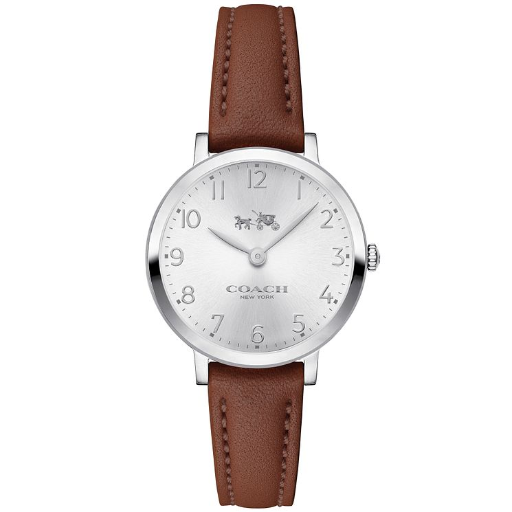Coach Ladies' Stainless Steel Strap Watch - Product number 5053684