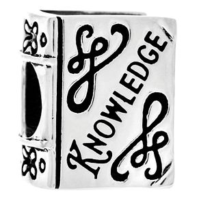 Chamilia Knowledge Is Power Charm with Swarovski Crystal - Product number 5056799