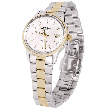 Rotary Avenger Ladies' 2 Colour Steel Bracelet Watch - Product number 5056918