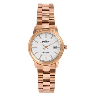 Rotary Avenger Ladies' Rose Gold-Plated Bracelet Watch - Product number 5056926