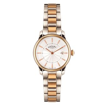 Rotary Ladies' 2 Colour Stainless Steel Bracelet Watch - Product number 5056969